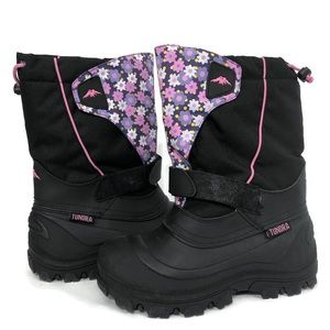 Tundra Quebec Snow Boots Water Resistant Girls